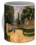 Houses Along A Road Coffee Mug