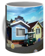 Houses In A Row Coffee Mug by Snake Jagger