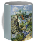 Houses In Auvers Coffee Mug