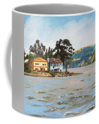 Houses Next To Water Coffee Mug