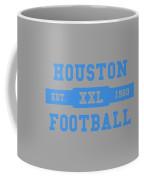 Houston Oilers Retro Shirt Coffee Mug