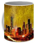 Houston Skyline 111 - Pa Coffee Mug