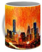 Houston Skyline 116 - Pa Coffee Mug