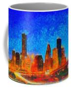 Houston Skyline 130 - Pa Coffee Mug
