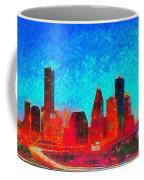 Houston Skyline 131 - Pa Coffee Mug
