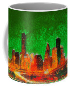 Houston Skyline 133 - Pa Coffee Mug