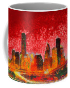 Houston Skyline 134 - Pa Coffee Mug