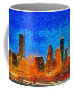 Houston Skyline 40 - Pa Coffee Mug