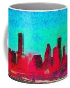 Houston Skyline 44 - Pa Coffee Mug