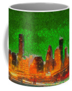 Houston Skyline 48 - Pa Coffee Mug