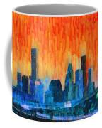 Houston Skyline 81 - Pa Coffee Mug