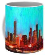 Houston Skyline 87 - Pa Coffee Mug