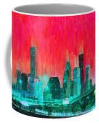 Houston Skyline 91 - Pa Coffee Mug