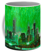Houston Skyline 96 - Pa Coffee Mug