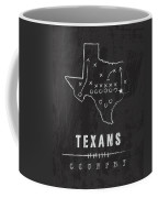 Houston Texans Art - Nfl Football Wall Print Coffee Mug by Damon Gray
