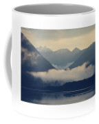 Hovering Cloud At Lake Sylvenstein Coffee Mug