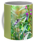 Hovering Hummingbird Coffee Mug