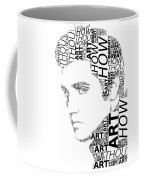 How Great Thou Art Elvis Wordart Coffee Mug
