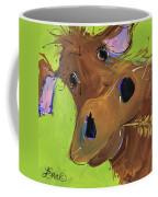 How Now Brown Cow Coffee Mug