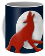 Howling At The Moon Coffee Mug