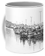 Howth Ireland Bw Coffee Mug