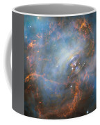 Hubble Captures The Beating Heart Of The Crab Nebula Coffee Mug