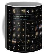 Hubble Galaxy Poster Coffee Mug