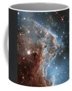 Hubble's 24th Birthday Snap Of Monkey Head Nebula Coffee Mug
