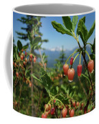 Huckleberry Flowers Atop Huckleberry Mountain In Glacier National Park Montana Coffee Mug