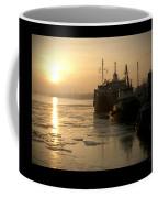 Huddled Boats Coffee Mug