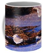 Huddling On A Winter Day  Coffee Mug