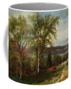 Hudson River At Croton Point Coffee Mug