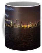 Hudson River At Dusk Coffee Mug