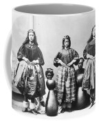 Hula Dancers, C1875 Coffee Mug