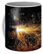 Hull Maintenance Technician Welds Scrap Coffee Mug