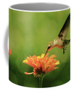Hummer And Zinnia Coffee Mug