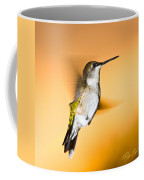 Hummingbird Agains The Sunset Coffee Mug