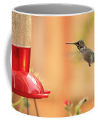 Hummingbird And Feeder Coffee Mug