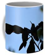 Hummingbird At Sunrise Silhouette Coffee Mug
