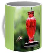 Hummingbird Feeder Coffee Mug