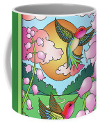 Hummingbird Sunrise Coffee Mug
