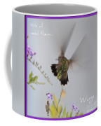 Hummingbird Wings Coffee Mug