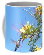 Hummingbird With Honeysuckle Coffee Mug