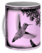 Hummingbird With Old-fashioned Frame 2  Coffee Mug