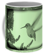 Hummingbird With Old-fashioned Frame 5 Coffee Mug
