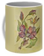 Hummingbirds And Hibiscus Coffee Mug