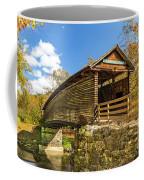 Humpback Covered Bridge In Autumn Colors Coffee Mug