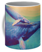 Humpback Whale And Calf Coffee Mug