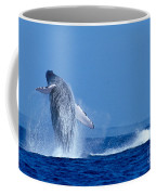 Humpback Whale Breaching Coffee Mug