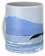 Humpback Whale Flukes Coffee Mug